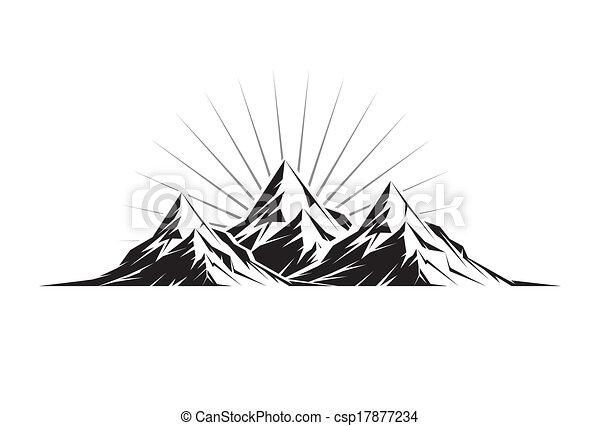 Tres picos - csp17877234