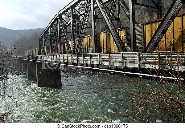 trestle, regn - csp1360175