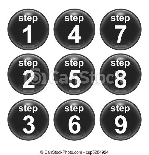 Schritt - csp5284924
