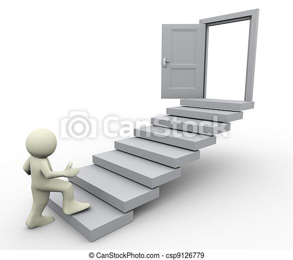 Erster Schritt - csp9126779