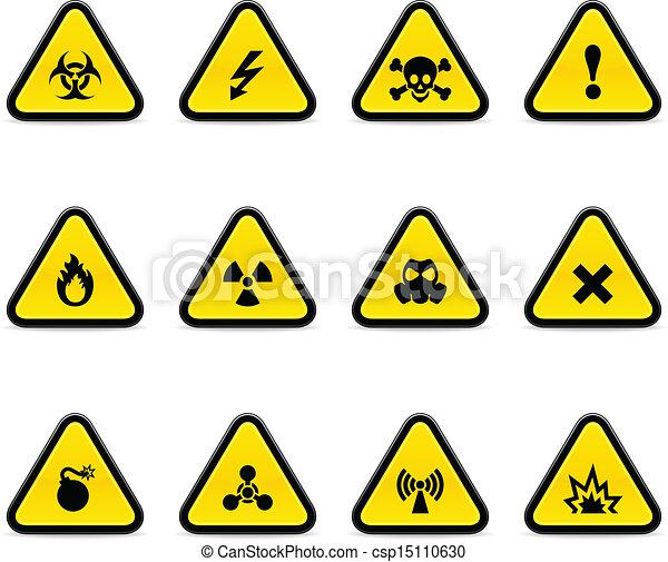 Triángulos de alerta - csp15110630