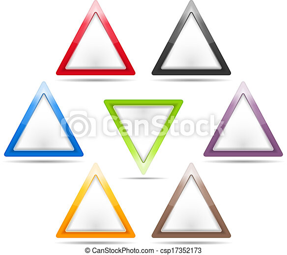 Triangle Signs - csp17352173