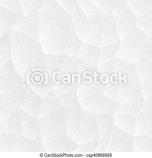 triangles., abstrakcyjny, białe tło - csp40866926