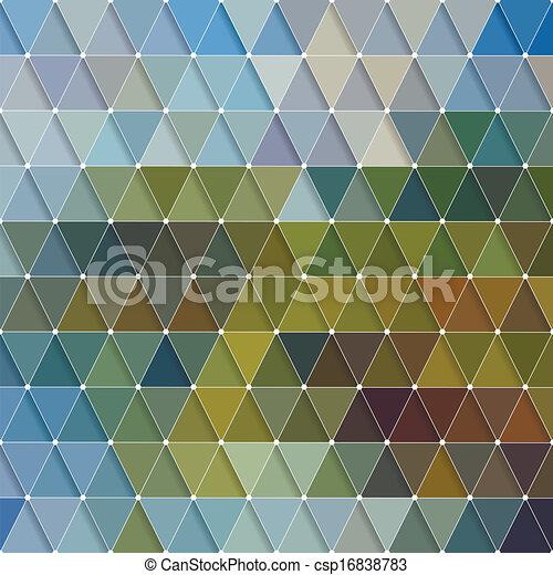 Triangles Pattern - csp16838783