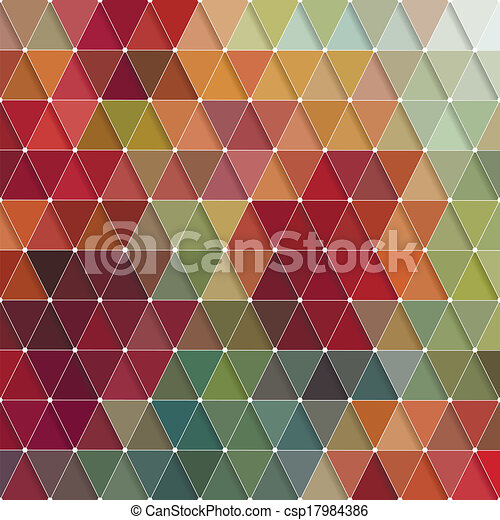 Triangles Pattern - csp17984386