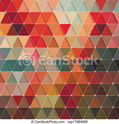 Triangles Pattern - csp17984688