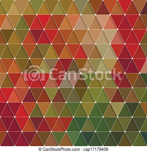 Triangles Pattern - csp17179439