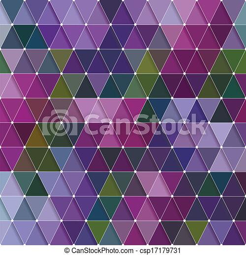 Triangles Pattern - csp17179731