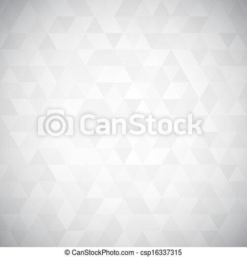 triangolo, pixel, mosaico, digitale - csp16337315