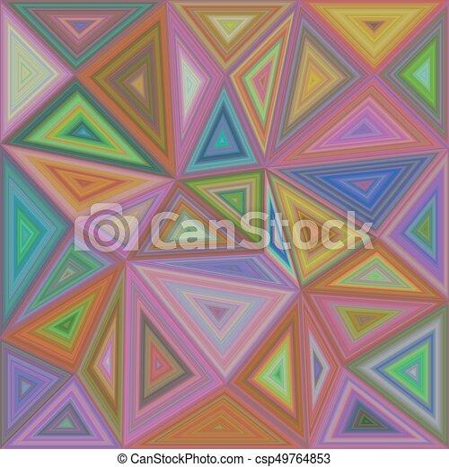 triangulo coloridos desenho mosaico fundo triangulo coloridos