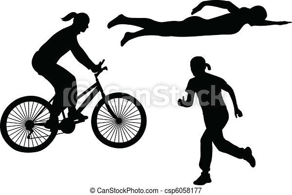triathlon - csp6058177