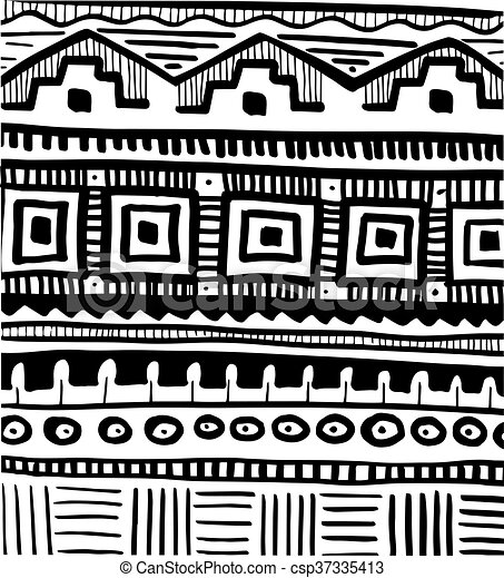 Tribal Abstract Pattern Tribal African Abstract Pattern Interesting African Tribal Patterns