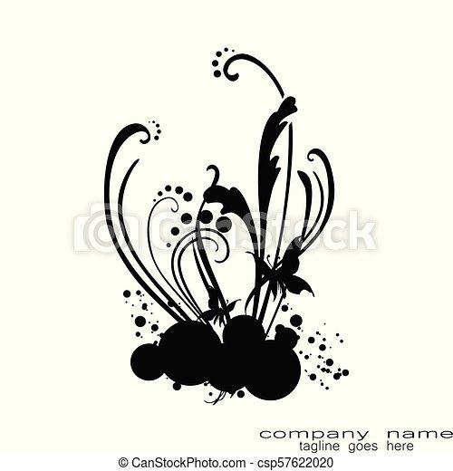 Dessin Tribal Fleur tribal, fleur, tatto. tatouage, fleur, tribal, créatif, échantillon