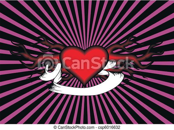 tribal heart - csp6016632