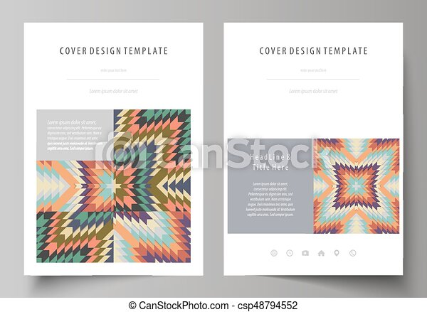 Tribal Pattern Geometrical Ornament Ethno Syle Ethnic Backdrop