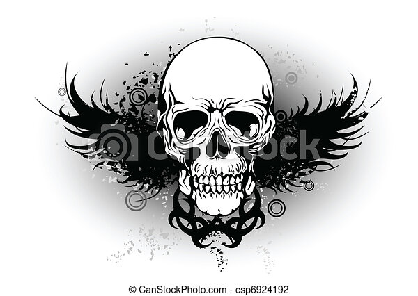 tribal skull with wing vector illustration search indian chiefs clip art free indian chief head clipart