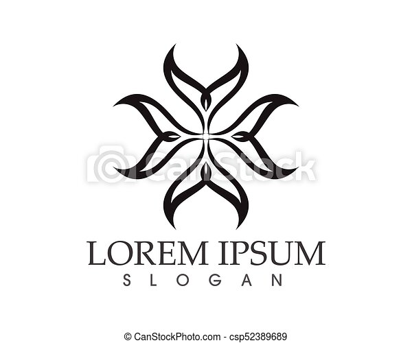 Tribal Tatto Black Logo And Symbols Icons