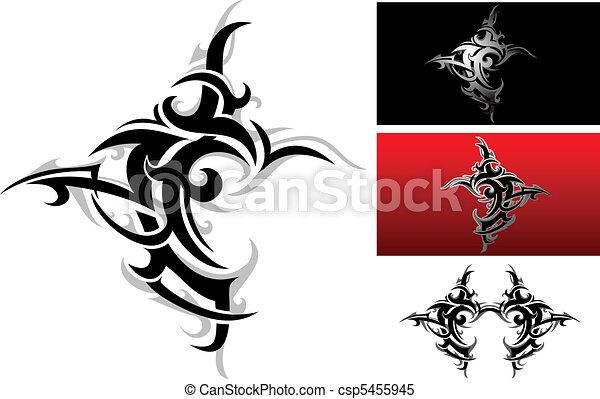 Tribal tattoo - csp5455945