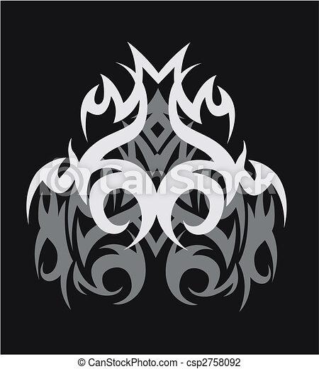 tribal tattoo design - csp2758092