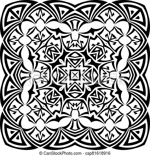 Tribal Tattoo Design - csp81618916