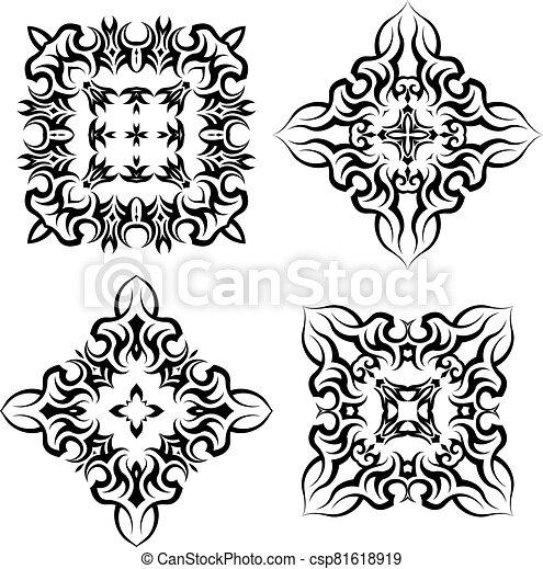 Tribal Tattoo Design - csp81618919