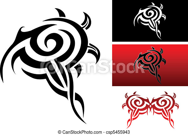Tribal tattoo - csp5455943