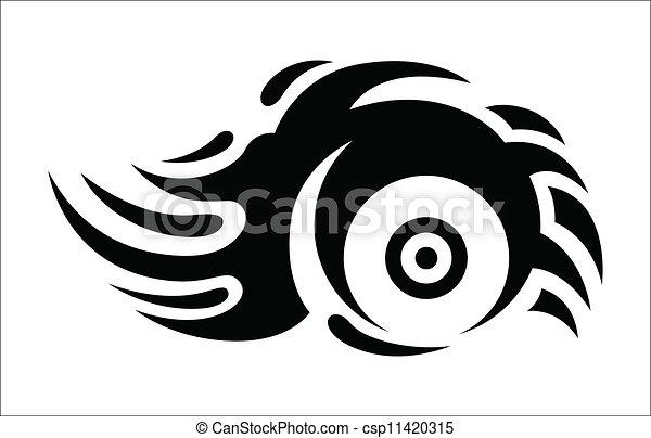 Tribal Tattoo - csp11420315