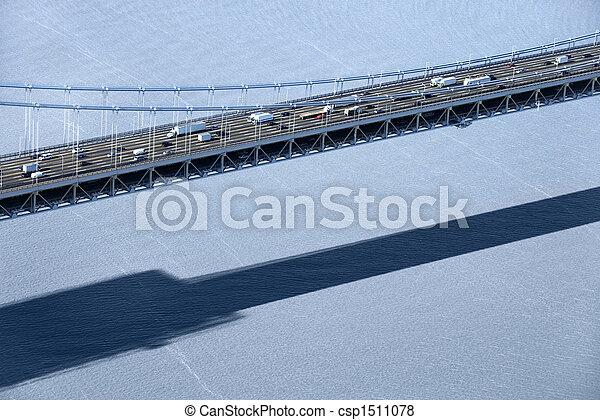 Triborough Bridge, NYC. - csp1511078