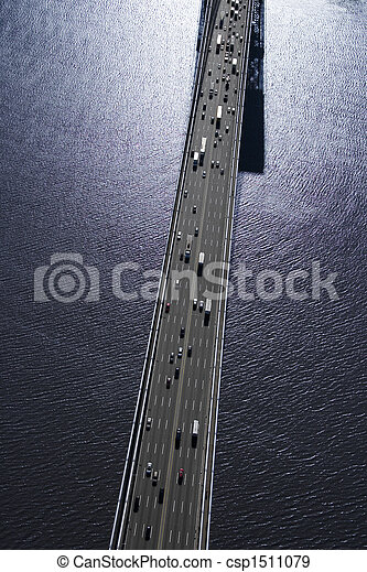 Triborough Bridge, NYC. - csp1511079