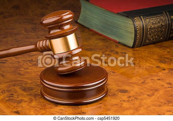 tribunal, marteau - csp5451920