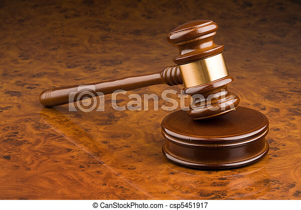tribunal, marteau - csp5451917