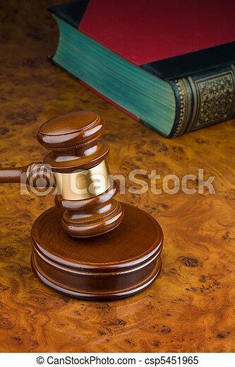 tribunal, marteau - csp5451965