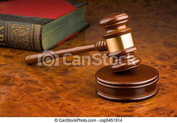 tribunal, marteau - csp5451914