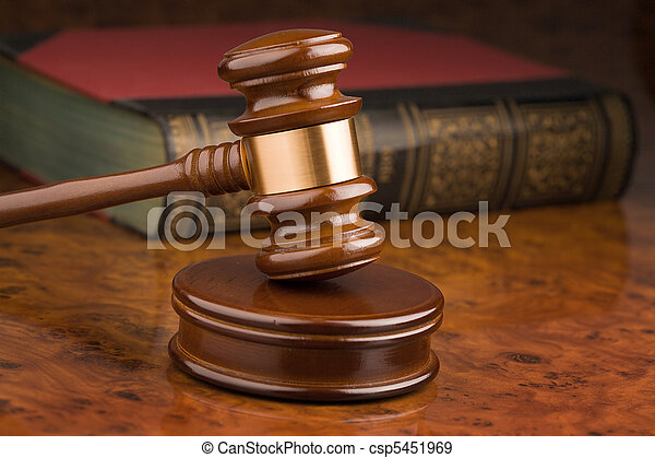 tribunal, marteau - csp5451969