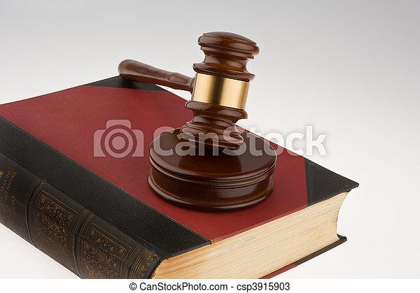 tribunal, marteau - csp3915903