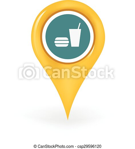 tribunal nourriture, emplacement - csp29596120
