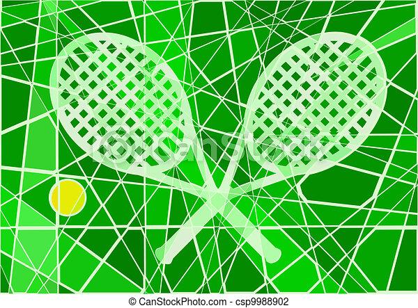 Tenis de Grass Court - csp9988902