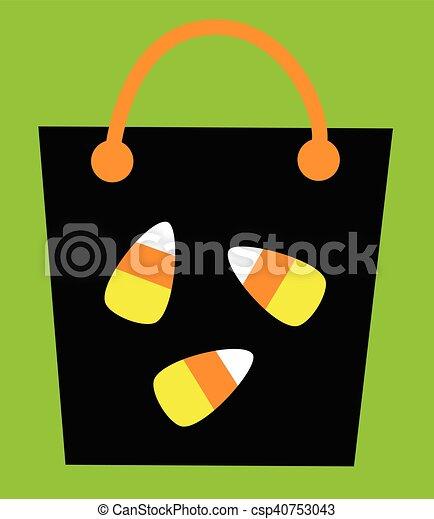 Trick or Treat Bag - csp40753043