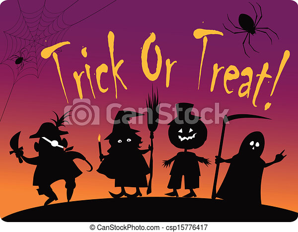 Funny Clipart Halloween - Trick Or Treating Preschool - Png Download  (#163716) - PinClipart