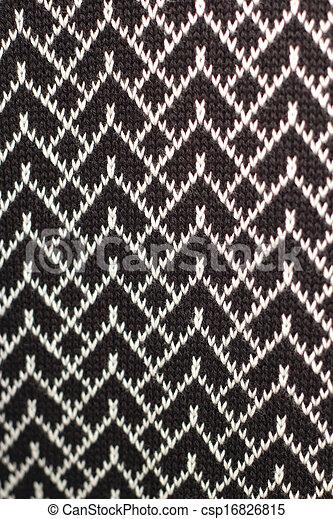 tricotado, textura, tecido, fundo - csp16826815