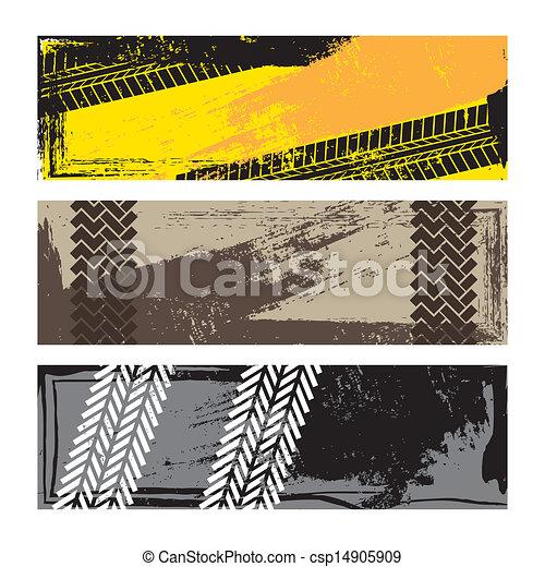 trilhas pneu - csp14905909