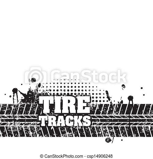 trilhas pneu - csp14906248