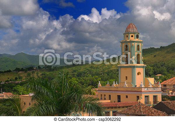 trinidad, cityscape, cuba - csp3062292