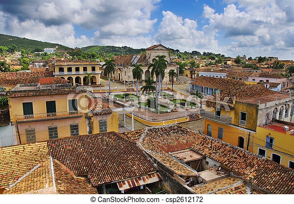 trinidad, ville, cuba - csp2612172