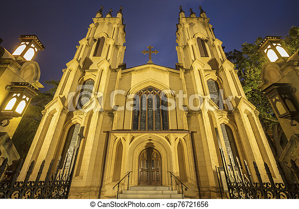 Trinity Episcopal Cathedral in Columbia - csp76721656