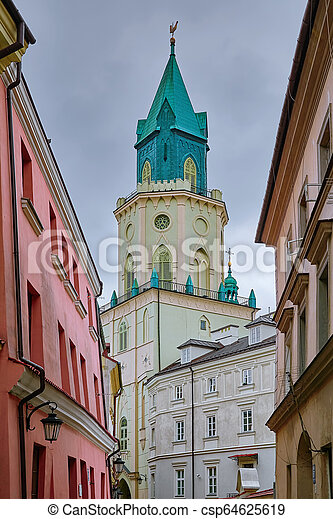 Trinity Tower in Lublin - csp64625619