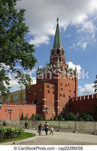 Trinity Tower of Moscow Kremlin - csp22286058