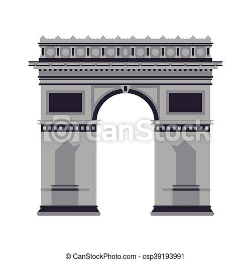 Arco del icono del Triunfo - csp39193991