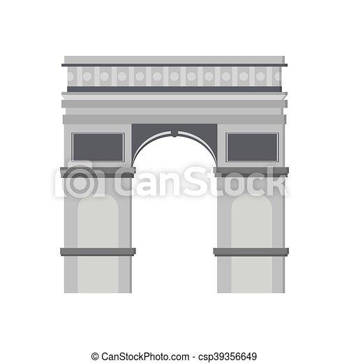 Arco del icono del Triunfo - csp39356649
