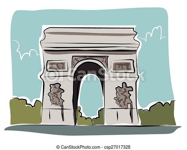 Sketchy Ar de Triunfo - csp27017328
